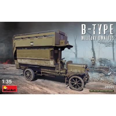 OMNIBUS Type B (Militar) -1/35- MiniArt Model 39001