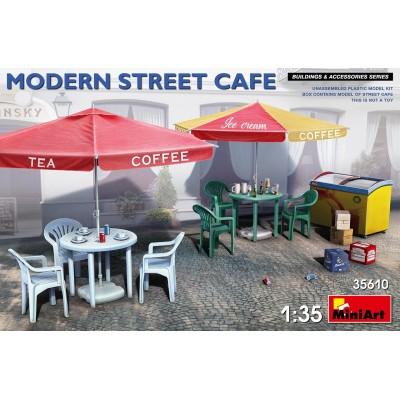 SET ACCESORIOS CAFETERIA MODERNA -1/35- MiniArt 35610
