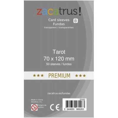 FUNDAS TAROT PREMIUM 70x120mm (50 FUNDAS)