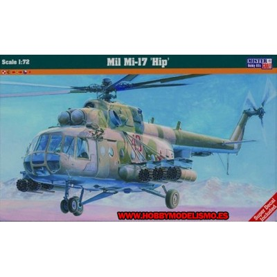 HELICOPTERO MI-17TB HIP - escala 1/72 - MISTER CRAFT 060015