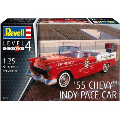 CHEVY 55 INDY PACE CAR - escala 1/25 - REVELL 07686
