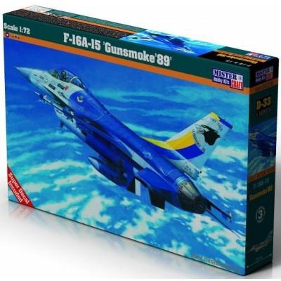 LOCKHEED MARTIN F-16A-15 GUNSMOKE89 escala 1/72