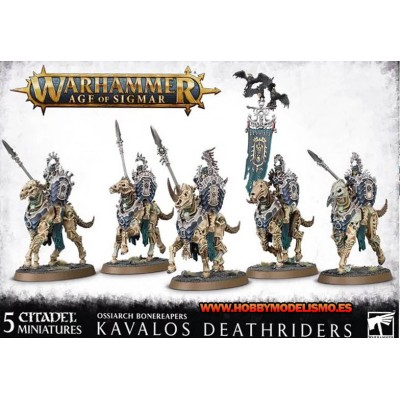 OSSIARCH BONEREAPERS KAVALOS DEATHRIDERS - GAMES WORKSHOP 94-27