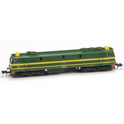 LOCOMOTORA 333 RENFE RAMBO ORIGINAL - DIGITAL - ESCALA N- MF TRAIN N13303