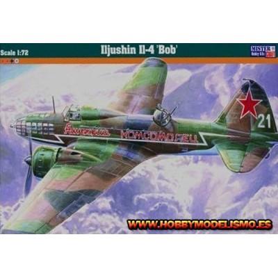 ILLIUSHIN IL-4 BOB -escala 1/72 - MISTERCRAFT 060190