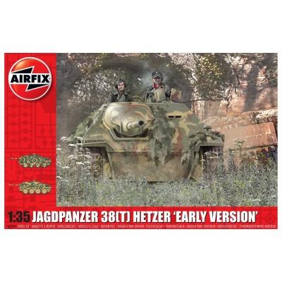 CAZACARROS 38 (t) SD.KFZ. 138/2 HETZER -1/35- Airfix A1355