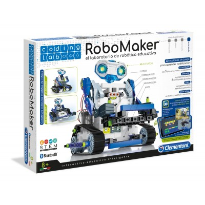 ROBOMAKER - LABORATORIO ROBOTICA - CLEMENTONI 55331