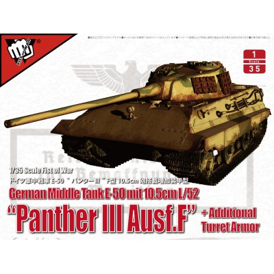 CARRO DE COMBATE E-50 (105 mm. L/52) Panther III Ausf.F -1/35- Modelcollect UA35015