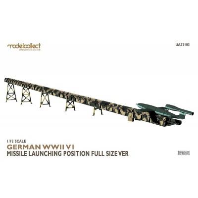 MISIL V-1 & RAMPA DE LANZAMIENTO -1/72- Modelcollect UA72183
