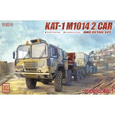 CABEZA TRACTORA KAT-1 M1014 2 CAR & ACCESORIOS -1/72- Modelcollect UA72191