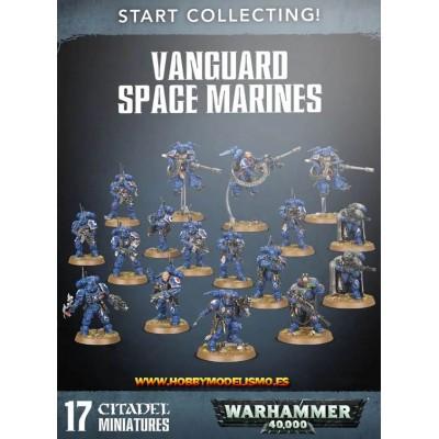 START COLLECTING VANGUARD SPACE MARINES - Games Worshop 7042