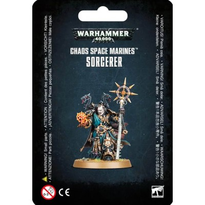CHAOS SPACE MARINES SORCERER - Games Workshop 43-69
