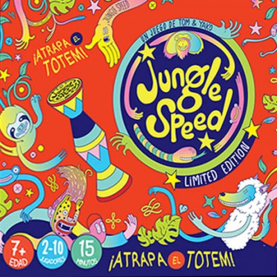 JUNGLE SPEED: Atrapa el Totem - ASMODEE JSBERT02ESPT