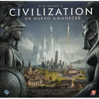 CIVILIZATION: Un nuevo amanecer - Fantasy Flight Games CND01ES