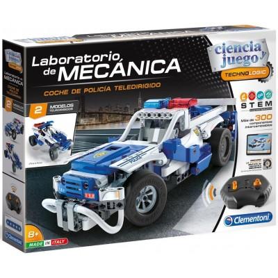 Laboratorio de mecanica: COCHE POLICIA R/C - Clementoni 55333