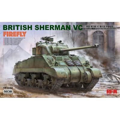CARRO DE COMBATE M-4 A4 SHERMAN MK-V C FIREFLY -1/35- Rye Field Model 5038