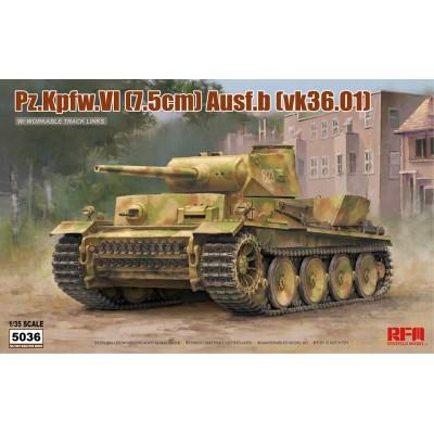 CARRO DE COMBATE VK 36.01 PANZER IV Ausf. B -1/35- Rye Field Model 5036