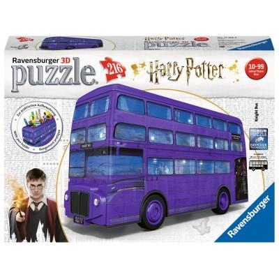 PUZZLE 3D 216 pzas PORTALAPICES AUTOBUS Harry Potter - RAVENSBURGER 11158