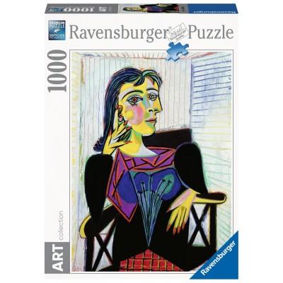 PUZZLE 1000 Pzas RETRATO DE DORA MAAR, PICASSO - Ravensburger 14088