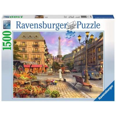 PUZZLE 1500 Pzas VINTAGE PARIS - Ravensburger 16309