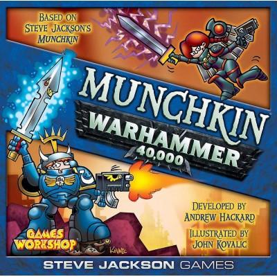 MUNCHKIN Warhammer 40000 (Juego Basico) - Edge EESJMW01