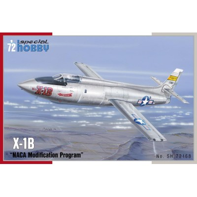 BELL X-1B NACA MODIF. PROGRAM - ESCALA 1/72 - SPECIAL HOBBY 72168