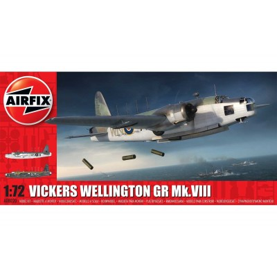 VICKERS WELLINGTON MK-VIII (Coast Comand) -Escala 1/72 - Airfix A08020