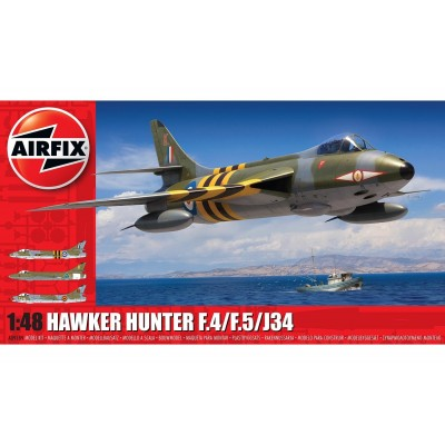HAWKER HUNTER F.4 (Suez) 1/48 - Airfix A09189