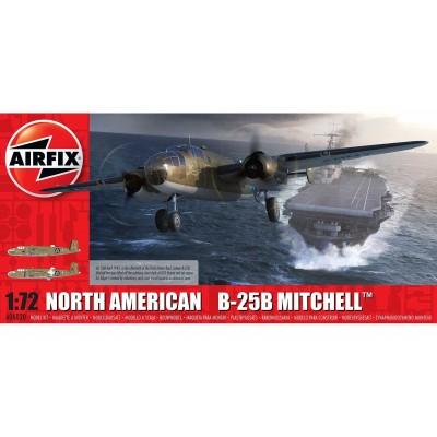 "NORTH AMERICAN B-25 B MITCHELL ""Doolittel Raid"" 1/72 - Airfix A06020"