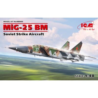 MIKOYAN GUREVICH MIG-25 BM -1/48- ICM 48905
