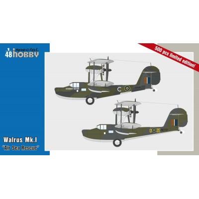 "SUPERMARINE WALRUS MK-I ""Air Sea Rescue"" -1/48- Special Hobby SH48163"