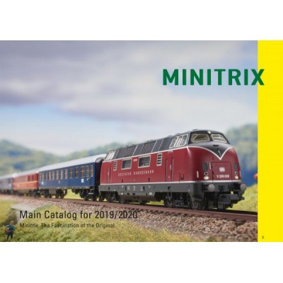 CATALOGO MINITRIX 2019/2020 EN INGLES