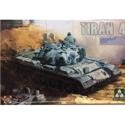 CARRO DE COMBATE TIRAN 4 -1/35- TAKOM 2051