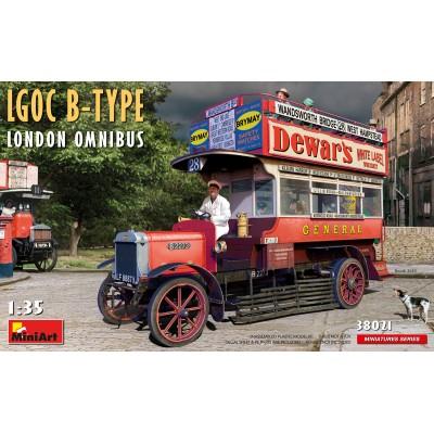 OMNIBUS LGOC B-TYPE LONDON -1/35- MiniArt Model 38021