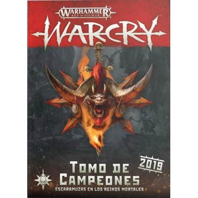 WARCRY TOMO DE CAMPEONES 2019 ESPAÑOL