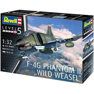 """McDONNELL DOUGLAS F-4 G PHANTOM II """"Wild Weasel"""" -1/32- Revell 04959"""