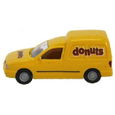 FURGONETA VOLKSWAGEN CADDY DONUTS -1/87 - H0- Rietze 50522