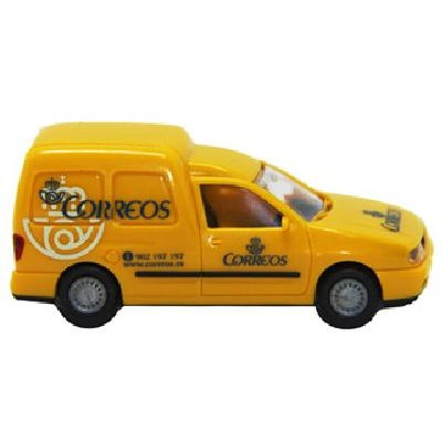 FURGONETA VOLKSWAGEN CADDY CORREOS -1/87 - H0- Rietze 30856