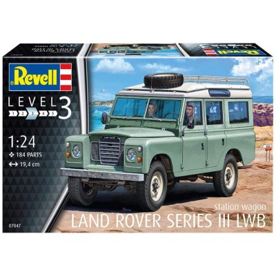 LAND ROVER SERIES III LWB -1/24- REVELL 07047