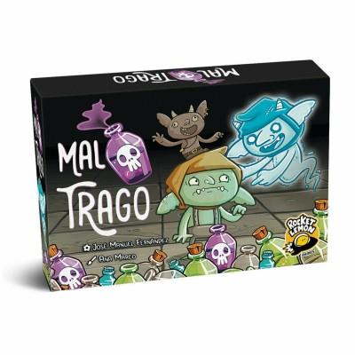 MAL TRAGO , JUEGO DE CARTAS - ROCKET LEMON