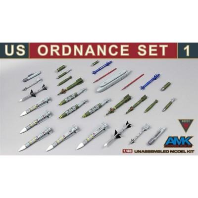 US ORDENANCE WEAPON SET F-14D - ESCALA 1/48