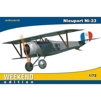 NIEUPORT Ni-23 -1/72- Eduard 7417