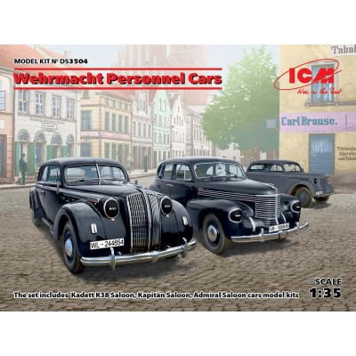 COCHES OFICIALES WEHRMACHT -1/35- ICM DS3504