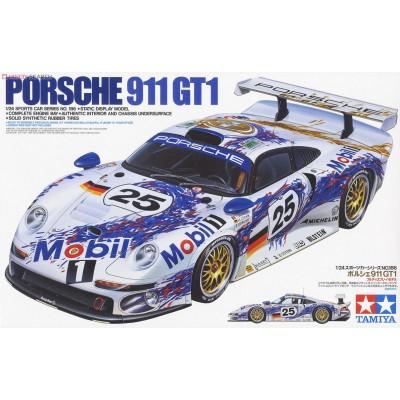 PORSCHE 911 GT1 LEMANS 96 FACTORY - ESCALA 1/24 - TAMIYA 24186