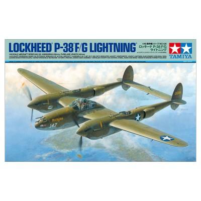 LOCKHEED P-38 F/G LIGHTNING - ESCALA 1/48 TAMIYA 61120