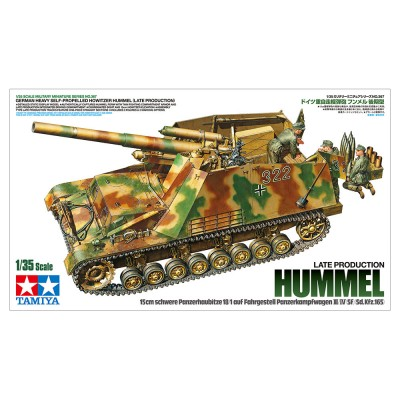 CAÑON AUTOPROPULSADO Sd.Kfz. 165 Hummel - ESCALA 1/35 - TAMIYA 35367