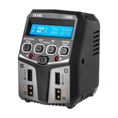 CARGADOR DUAL T100 AC 100W 5A - SKYRC 100162