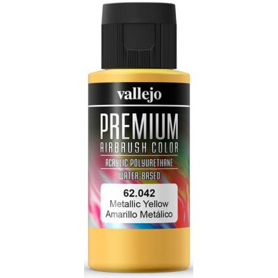 PREMIUN RC: AMARILLO METALICO (60 ml)