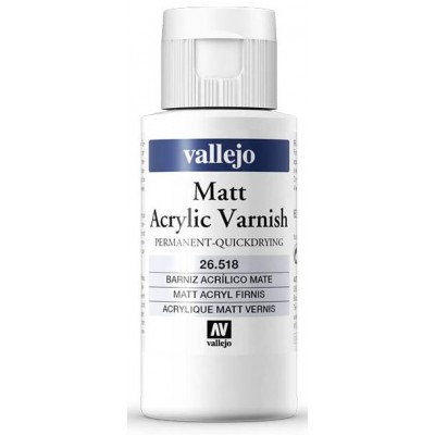BARNIZ ACRILICO PERMANENTE MATE (60 ml)