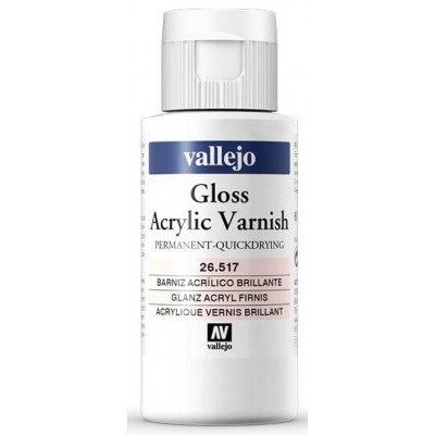 BARNIZ ACRILICO PERMANENTE BRILLANTE (60 ml)